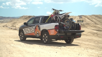 Building The Perfect Dirt Bike Pit Stop… In The Back Of A Truck