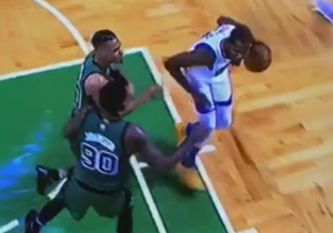 Gerald Green Let Kevin Durant Score On Him While Whining To The Refs