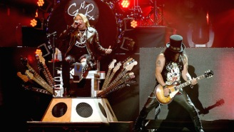 Guns N' Roses Declare 'The Machine Is Back At It' In 2017