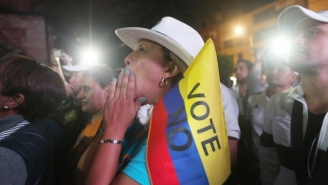 The Colombian Government And FARC Rebels Reach A New Peace Agreement After Previous Talks Broke Down