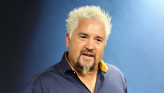 Guy Fieri's Critically Panned Restaurant Pulled In A Staggering Amount Of Money