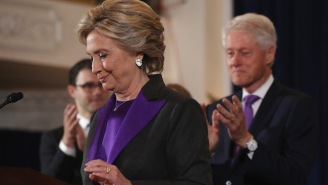 Hillary Clinton's Campaign Team Will Take Part In Swing State Election Recount Efforts