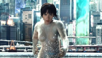 The First 'Ghost In The Shell' Teaser Decloaks An Invisible Scarlett Johanssen