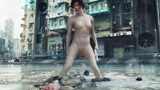 'Ghost In The Shell' Is Garnering Some High Praise From Fans In Japan