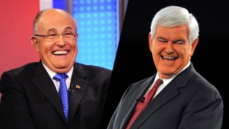 Report: Rudy Giuliani And Newt Gingrich Are Top Contenders In A Hopeful Trump Cabinet