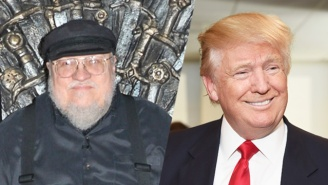 'Game of Thrones' Author George R.R. Martin Can't Think Of Anyone Less Fit To Be President Than Trump