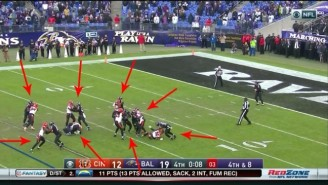 Eight Ravens Committed Penalties On One Play To Secure A Win Against Cincinnati