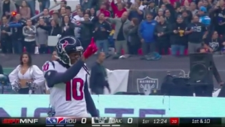 A Terrible Missed Call Prevented DeAndre Hopkins From Scoring A Huge Touchdown