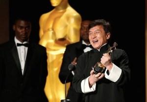 Jackie Chan Is Now Academy Award Winner Jackie Chan