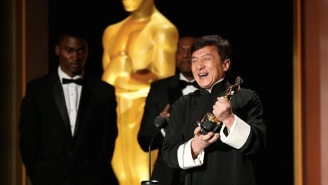 Jackie Chan Is Now Academy Award Winner Jackie Chan