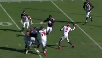 Jameis Winston Just Pulled Off One Of The Most Incredible Scrambles You'll Ever See