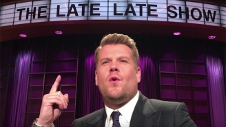 James Corden Might've Just Won The Mannequin Challenge On 'The Late Late Show'