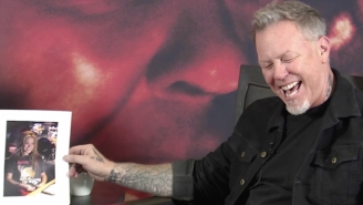 James Hetfield Has Kindly Weighed In On Celebrities Wearing Metallica T-Shirts