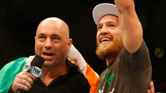 Joe Rogan Thinks Conor McGregor Can Win The UFC Welterwight Title As Well