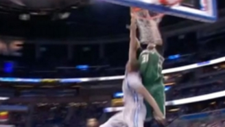 John Henson Put Serge Ibaka On A Poster With This Filthy Alley-Oop Jam