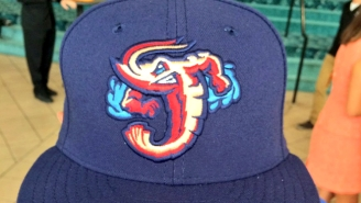 The Jumbo Shrimp Are Now A Real Minor League Baseball Team And All Their Logos Are Badass