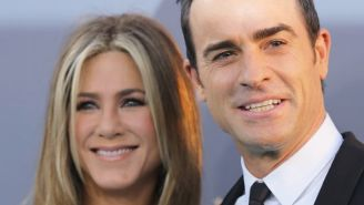 Jennifer Aniston's Husband Justin Theroux Shares A Curious Message For Brad Pitt On Instagram