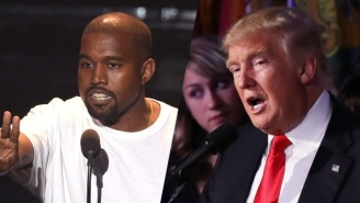 Kanye West Was Booed At A Show For Saying He Would've Voted For Donald Trump (If He'd Have Bothered To Vote)