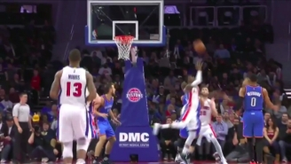 This Crazy Kentavious Caldwell-Pope Shot Is Straight Out Of A Game Of H-O-R-S-E