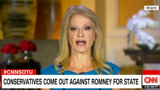 Is Kellyanne Conway Proving That Trump Had No Intention Of Offering Mitt Romney A Cabinet Position?