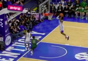 Kentucky Freshmen De'Aaron Fox And Malik Monk Teamed Up For A Ridiculous Alley-Oop Dunk