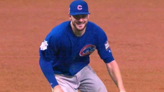 We Can All Watch The Exact Moment Kris Bryant Knew The Cubs Had Won The World Series