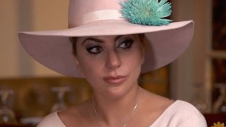 Lady Gaga Tells 'Sunday Morning' That 'Joanne' Was Crafted With A 'Lot Of Crying, A Lot Of Pain'