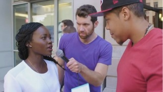 Lupita Nyong'o Tries To Be The Next Louis C.K. With Dirty Jokes On 'Billy On The Street'