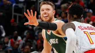 Australian Matthew Dellavedova Has A Good Reason For Believing The Kangaroo Punching Video Is Fake