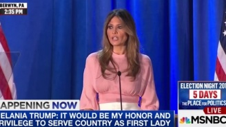 Melania Trump Vows To End The Reign Of 'Mean' Cyberbullies, And The Internet Can't Handle The Irony