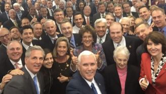 Mike Pence Is Being Relentlessly Mocked For Taking Quite Possibly The Whitest Selfie Ever