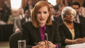 'Miss Sloane' Strands A Fine Cast In An Overwritten Political Drama