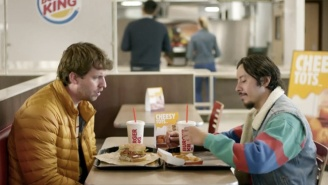 Napoleon Dynamite And Pedro Team Up To Sell Burger King Cheesy Tots