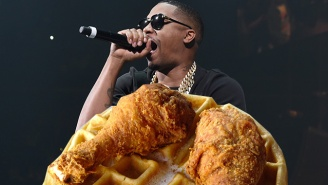 Nas Is Ready To Compete With Roscoe's For LA's Best Chicken And Waffles