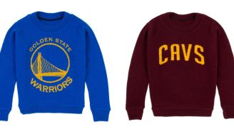 The NBA Is Getting Into The Luxury Merch Business With Cashmere Sweaters