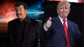 Neil deGrasse Tyson Proposes A Rather Unique Method For Getting Trump's Attention To 'Discuss Science'