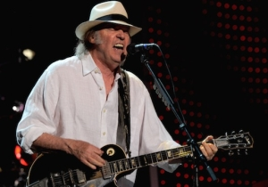 Neil Young Takes A Swipe At Trump In His Blustery New Song 'Already Great'