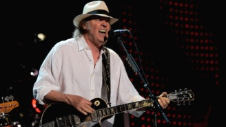 Neil Young Is Checking Out From Social Media, But He's Going To Be More Active Online Than Ever