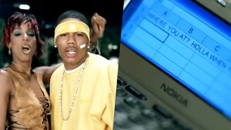 Nelly Tries And Fails To Explain Kelly Rowland's Poor Texting Skills From The 'Dilemma' Music Video