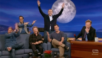 Norm Macdonald Steals The Show From Adam Sandler And His Comedy Buddies On 'Conan'