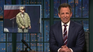 Ted Nugent Is The Cherry On Top Of Seth Meyers' Final 'Closer Look' Of Election 2016