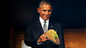 President Obama Really Wants You To Get Your Free Taco Today!