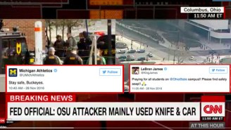 The Sports World Reacts To The Attack On Ohio State's Campus
