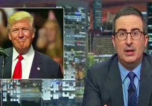 John Oliver Comes To A Terrible Realization About Who's To Blame For Trump's Campaign