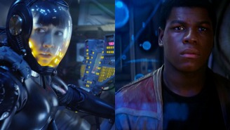 John Boyega is ready to 'put the beat down on some kaiju' in 'Pacific Rim: Maelstrom'