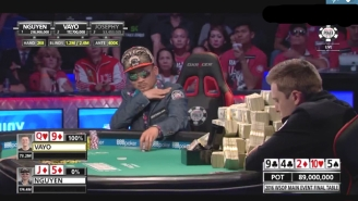 This Poker Player Broke Out The Bluff Of A Lifetime To Take A $162 Million WSOP Pot
