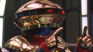 The 'Power Rangers' Reboot's Concept Art For Alpha 5 Is The Stuff Of Nightmares