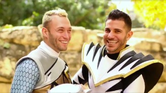 Watch This Power Rangers Cosplayer Propose To His Boyfriend In An Adorable Video