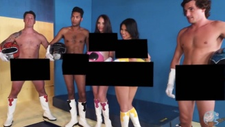 'Power Rangers' Finally Gets The Porn Parody Treatment It Deserves With 'Mighty Muffin Pounder Rangers'