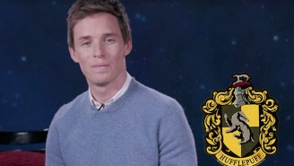 Eddie Redmayne's Hufflepuff PSA Should Have Been Directed At Those Other Hogwarts Houses